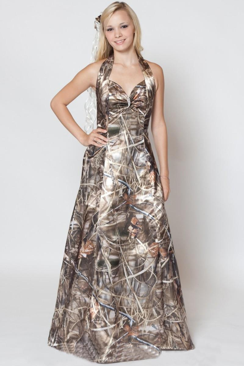 camo dresses for wedding Camo Wedding Dresses Trend For A Happening Wedding
