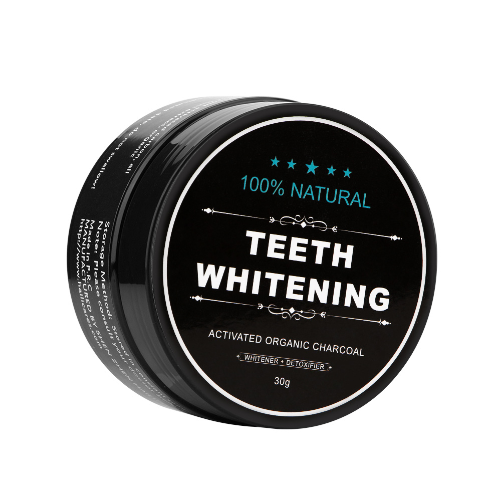 Natural Tooth Teeth Whitening Powder Smoke Coffee Tea Stain Remove Oral Hygiene Dental Care Bamboo Activated Charcoal Powder