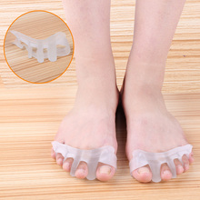 1 Pair Bunion Toe Separator Foot Care Gel Hallux Valgus Correction Separators Valgus Pro Stretchers Bone Thumb Protector Z32701(China (Mainland))