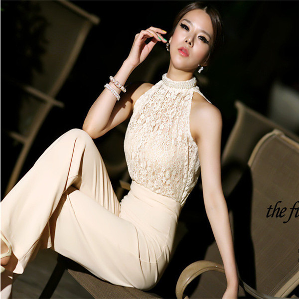 Женский комбинезон Fashion Women Jumpsuit dp851442 Halter Jumpsuit