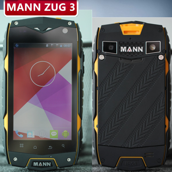 MANN ZUG 3 ZUG3 Falcon A18 Plus 4.0inch IP68 Waterproof Rugged Phone Snapdragon MSM8212 Quad Core 1.2GHz OS 4.3 1GB RAM GLONASS(China (Mainland))