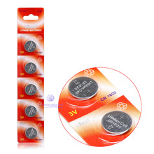 Free shipping+ Hot selling + 5 x CR1620 1620 ECR1620 BATTERY for Watch Game Lighter