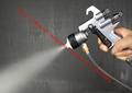 high quality 316 stainless steel single head chrome spray gun chrome paint spray gun spray chemical