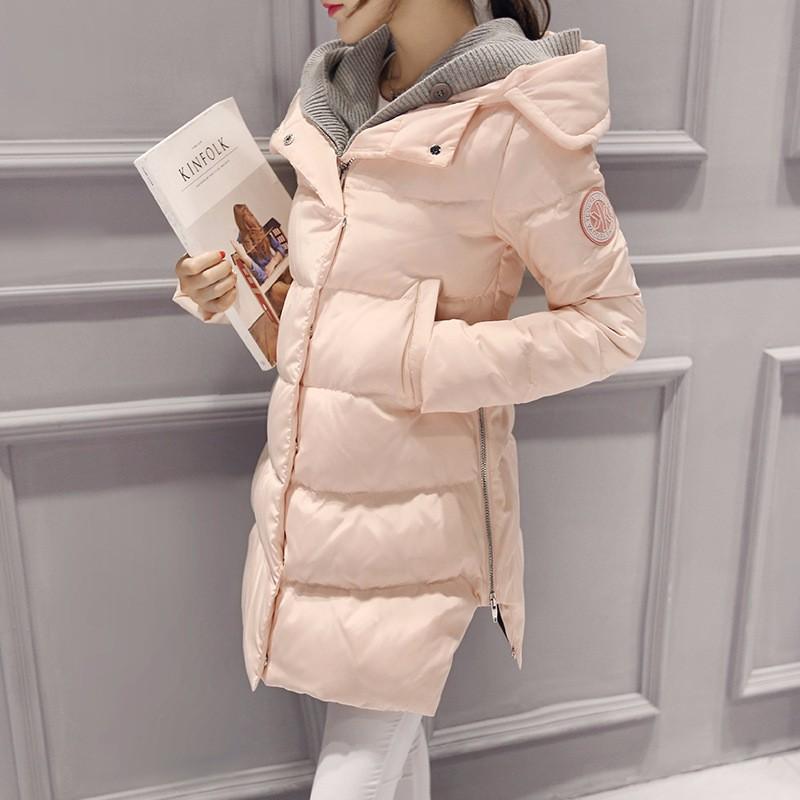Скидки на 2016 Мода Женский Пиджаки Толстые Теплые Куртка Негабаритных Зимнее Пальто Женщин горячей продажи