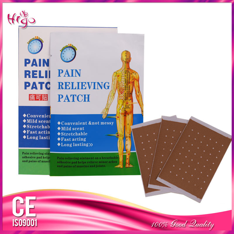 12Piece/2Boxes Pain Reliefing Patch 100% Function Well Pain Plaster China Health Care Products Body Massage BQJ091(China (Mainland))