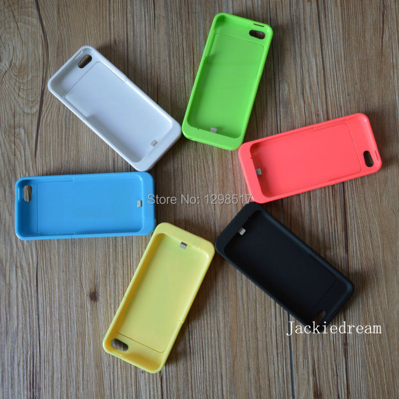 iPhone 5 5C 5s 2200mah Power Bank External Battery Rechargeable Charger Case Cover Work ios 8,100% Original - Guangzhou Cassi Trading Co.,Ltd store