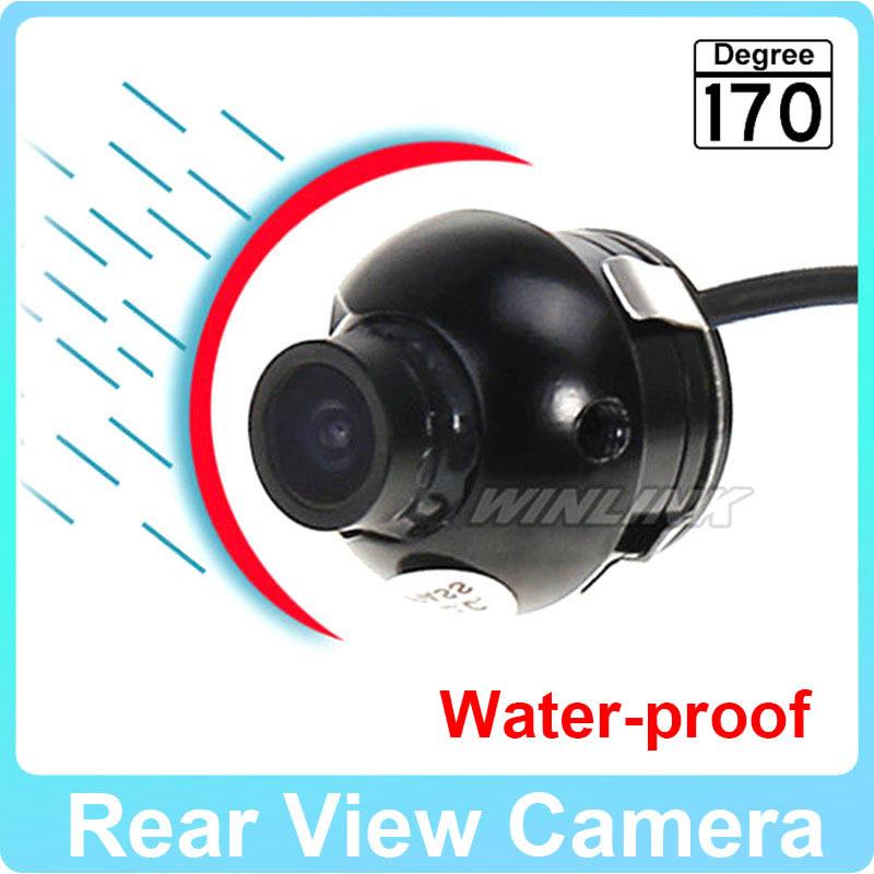 360 degree Rotation Wireless CCD HD night vision car front/left/right/rear view camera reverse camera(China (Mainland))