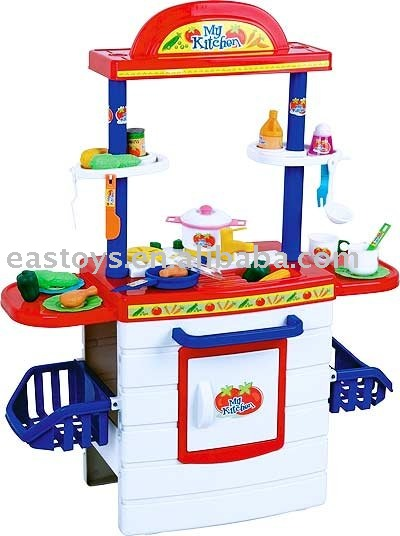 Kitchen table in kitchen toys from toys hobbies on for Toy kitchen table