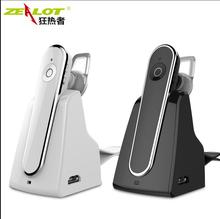 HOT zealot E5 Wireless bluetooth headset car driver handsfree earphones music headphones with microphone fast shipping(China (Mainland))