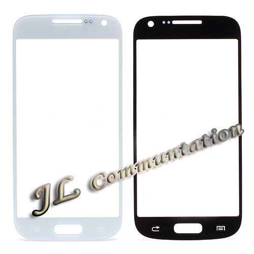 5 Front Outer Glass Screen Lens Samsung Galaxy S4 mini I9190 blue black white logo free shiping - JLTechnology Co. Ltd store