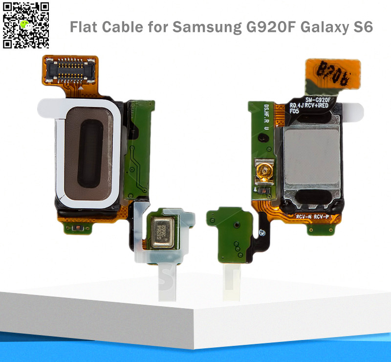 Original Flat Cable for Samsung G920F for Galaxy S6 Ribbon cable for speaker, sensor backlight Flex Cable(China (Mainland))