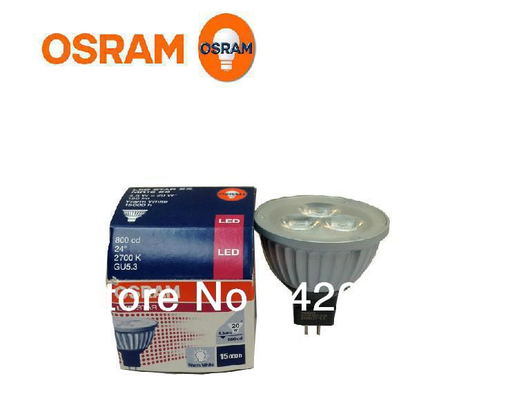 buy osram led mr16 2700k 3000k 24d 12v 4. Black Bedroom Furniture Sets. Home Design Ideas