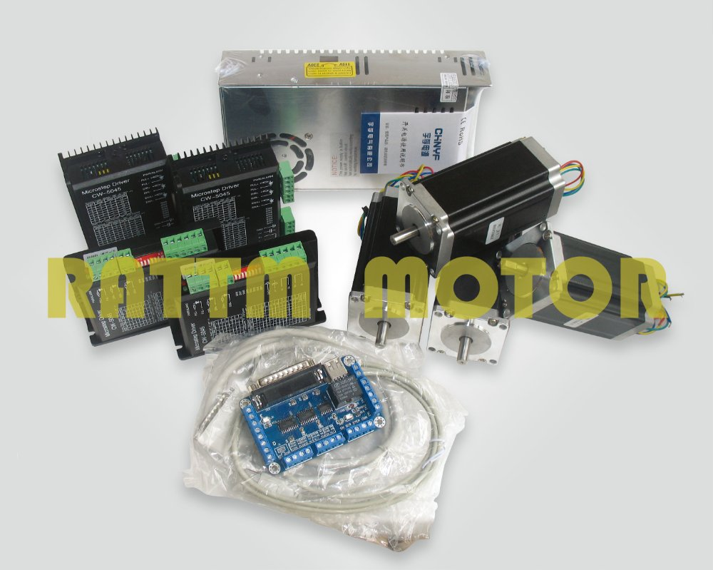 4 axis nema23 425 oz in dual shaft stepper motor 256 4 axis stepper motor controller