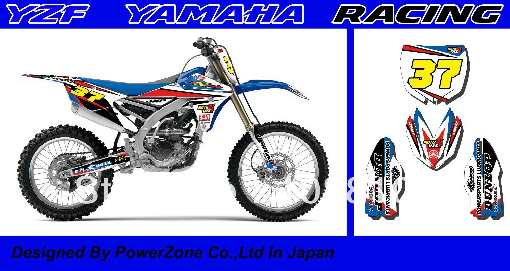 Top Quality Team Graphics &amp; Backgrounds 3M Decals Stickers Kits for WR YZ YZF250 450 1998-2014 Free Shpping<br><br>Aliexpress