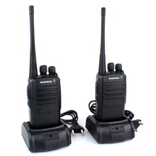 1 pair Walkie Talkie BF 388A UHF 400 470 MHz 5W 16CH Portable Two Way Radio
