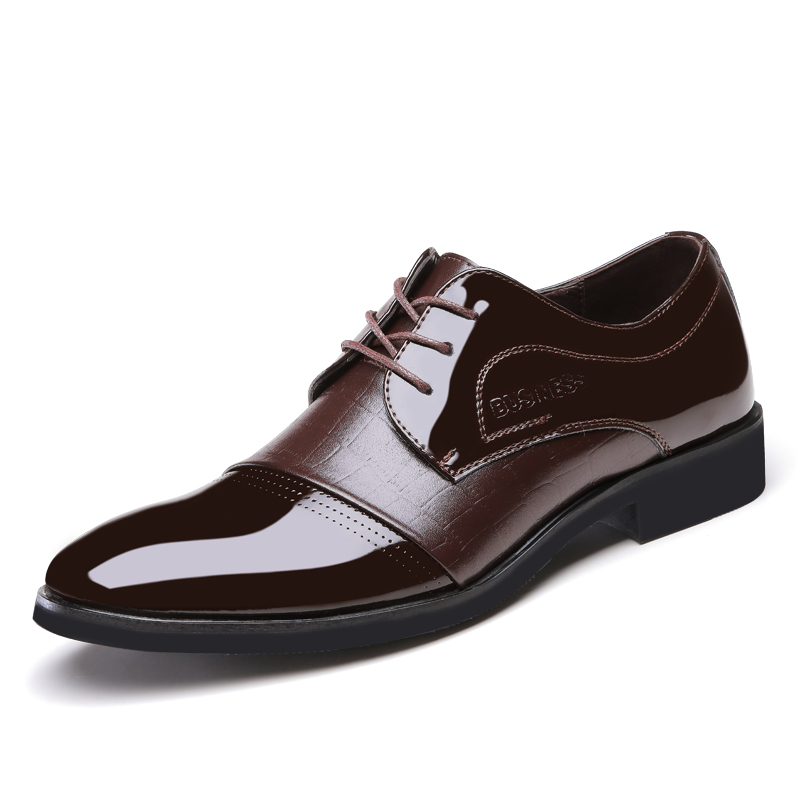 2016 business shoes luxury brand mens dress shoes