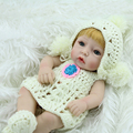 28cm 12in Silicone reborn baby doll toys reborn babies toy kids child birthday gift girl real