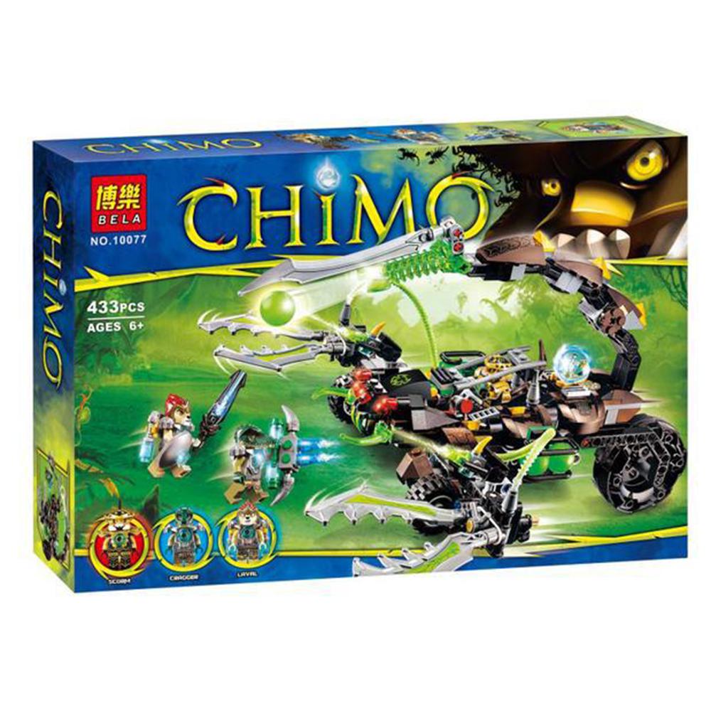 BELA 10077 Legoelieds Lion SCORMs SCORPION STINGER DIY Kids Toys Building Blocks Minifigures Compatible with 70132<br><br>Aliexpress