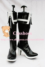 Custom made Black rock shooter boots Shoes from vocaloid Cosplay