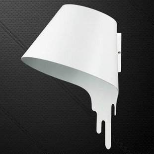 italienne lampe murale cr ative de la mode minimaliste clairage de la lampe murale liquide melt. Black Bedroom Furniture Sets. Home Design Ideas