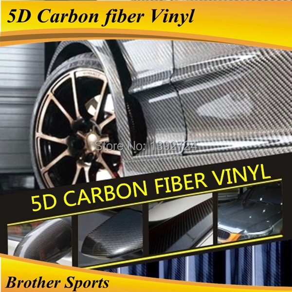 5d carbon fiber car change color sticker and carbon car vinyl wrapping size 1.52*20 m(China (Mainland))