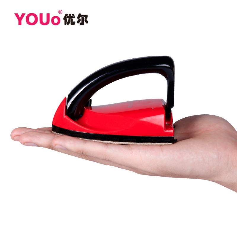 Free shipping new mini electric iron hand travel home small drilling cloth industry dry irons Electric Irons(China (Mainland))