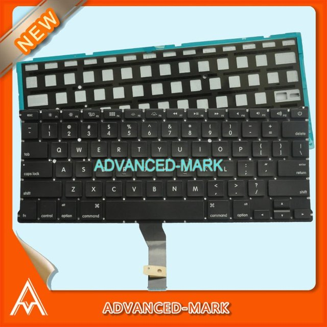 """Hot selling Brand New US keyboard for Macbook Air 13"""" A1369 2011 MC965 MC966 With backlight Black, Best price & Free shipping!"""