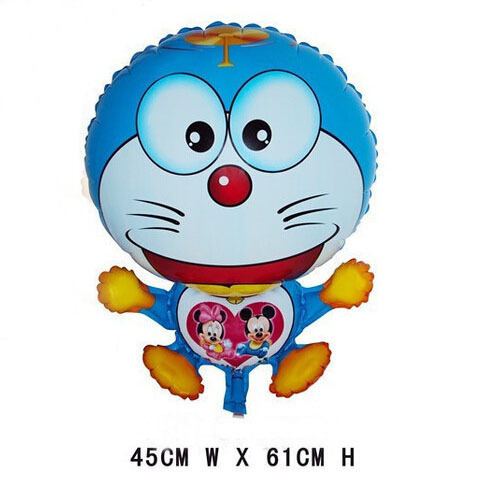 doraemon cat balloon animals inflatable air balloons for party supplies kids classic toy 45*61cm(China (Mainland))