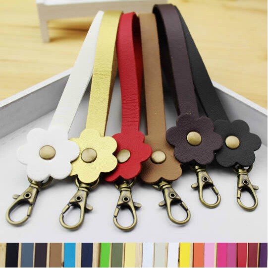20pcs 15x1cm pu leather handles 20 colors purse handle with brass buckle handbag belt accessories wholesale+ dropship ZP42(China (Mainland))