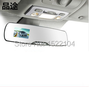Free 2015 Hot Sale 170 degree 500Mega 2.7 inch Mirrors tachograph HD 1080P infrared night vision does not leak seconds cycle(China (Mainland))