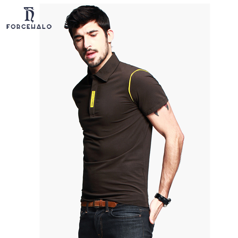2016 new fashion polo shirt men casual turn down collar for Best quality polo shirts for men