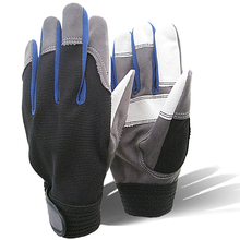 Free Shipping Hot Sale Pigskin Leather Gloves Work High Impact Gloves(China (Mainland))