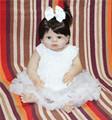 55cm New Full Body Silicone Reborn Baby Dolls Toy Newborn Girl bebe Doll reborn bonecas Gift