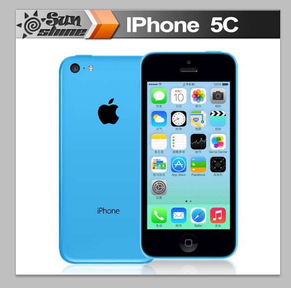 "iPhone5c Unlocked Original Apple iPhone 5c Mobile Phone 4"" Retina IPS Used Phone 8MP Smartphone GPS IOS Cell Phones(China (Mainland))"