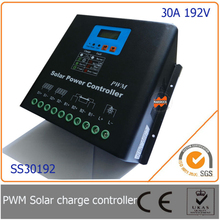 30A 192V Intelligent PWM Solar Charge Controller LCD Display, MCU design, High Input Voltage PV System - Mars Rock Science Technology Co., Ltd. store
