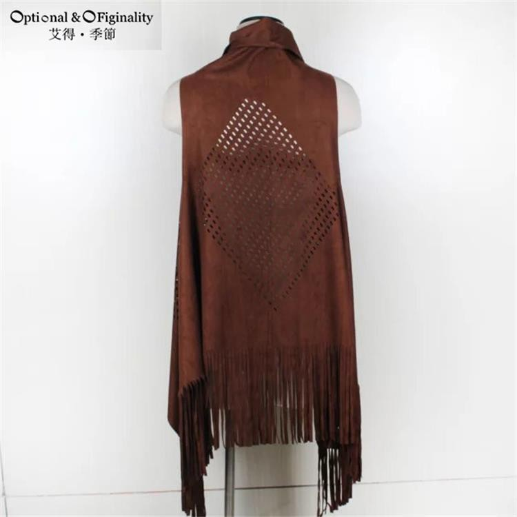 Luxury Brand Winter Warm Scarf Faux Sueded For Women Long Tassel Blanket Shawls Scarves Pashmina Oversize Cape