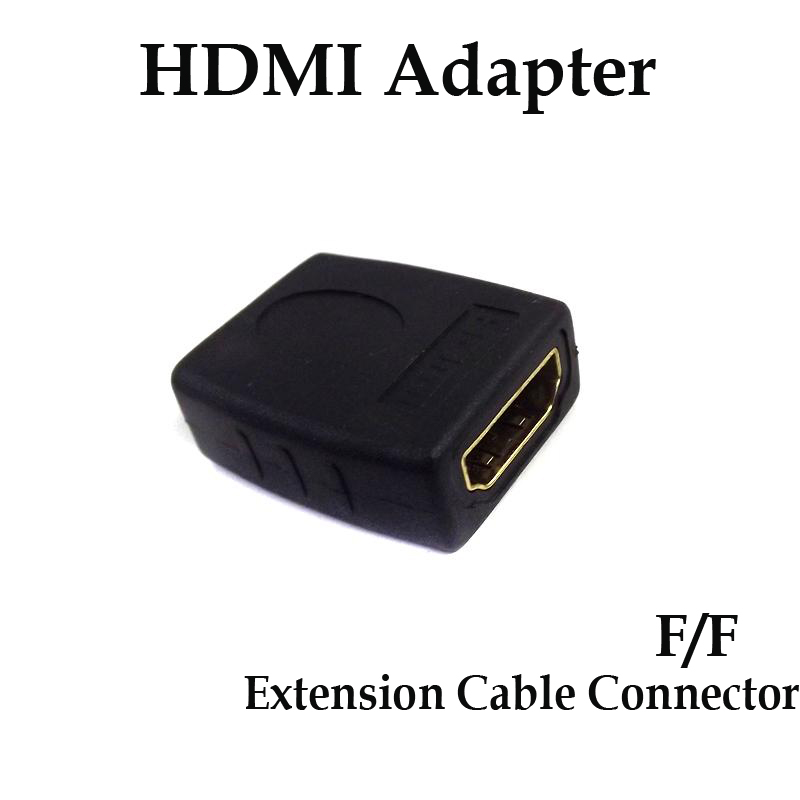 10pcs HDMI Female to Female Adapter HDMI to HDMI Extension Cable Adapter Converter Connector For 1080p HDTV(China (Mainland))