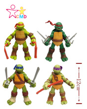 Animation around 4 style Teenage Mutant Ninja Turtles doll hand to do the model can be moving even toy boy gift