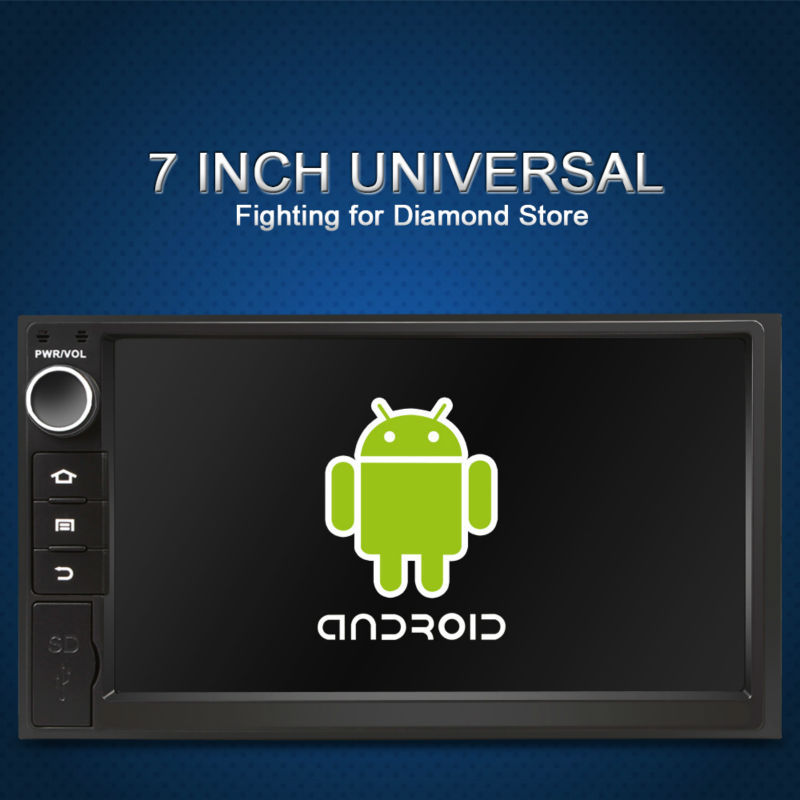 2 din 7 INCH Android 4.2 Car dvd player pc universal radio Glonass+gps for nissan x-trial xtail Qishqai car radio stereo dvd(China (Mainland))