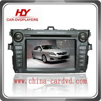 Special Car DVD Player for Toyota Corolla