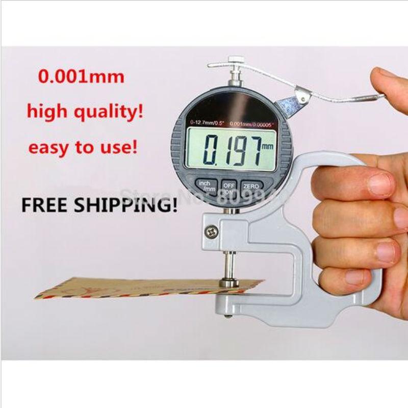 digital micron thickness gauge tester meter gauge micrometer caliper mengukur alat di. Black Bedroom Furniture Sets. Home Design Ideas