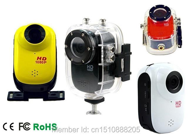 Free Shipping! Full HD 1080P Waterproof 30M Mini Camera Outdoor Camcorder DV  digital video cameras<br><br>Aliexpress