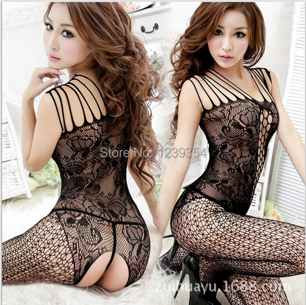 Sexy lingerie hot sexy costumes sex toy underwear coveralls bodystocking sex products body suit erotic lingerie sleepwear women(China (Mainland))