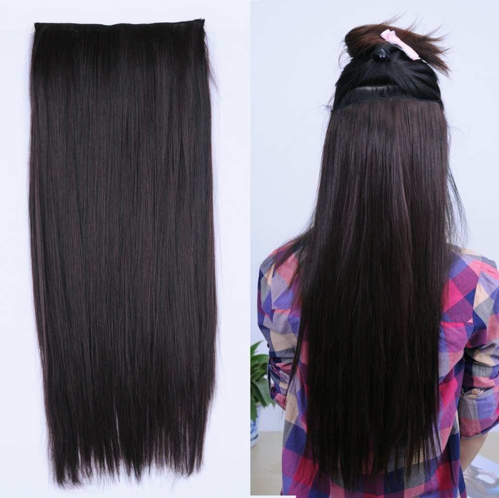 Clip In Long Brown Hair Extensions Prices Of Remy Hair