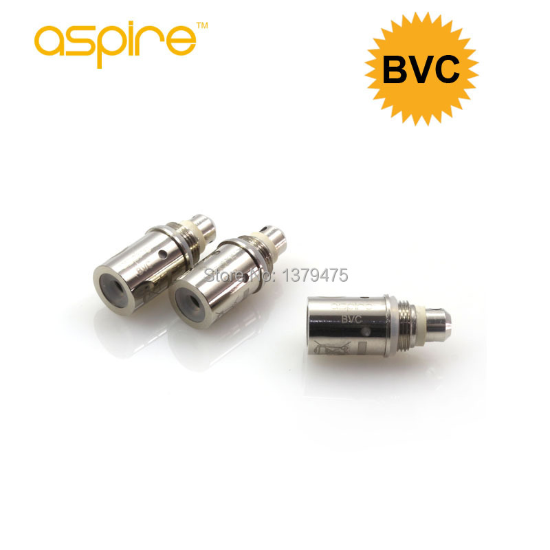 100% Authentic Aspire BVC Coil Bottom Vertical Heads Newest Electronic Cigarette Core Atomizers - Aspirecig store