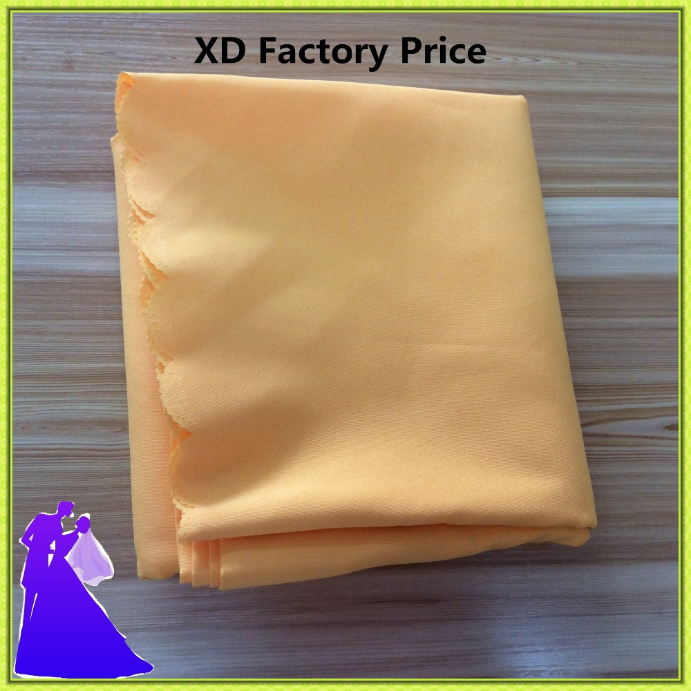 Free shipping hot selling high quality cheap price polyester round table cloth for wedding(China (Mainland))