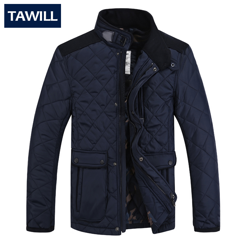 2015 New Arrivals Winter Brand Mens Cotton-Padded Jacket Warm Slim Fit Casual Jacket Solid Parkas Mens Parka JacketОдежда и ак�е��уары<br><br><br>Aliexpress