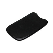 Wonder Land Black Beeswax Whole Body Gua Sha Point bar Beauty Roller Scrapping Plate Massage Body