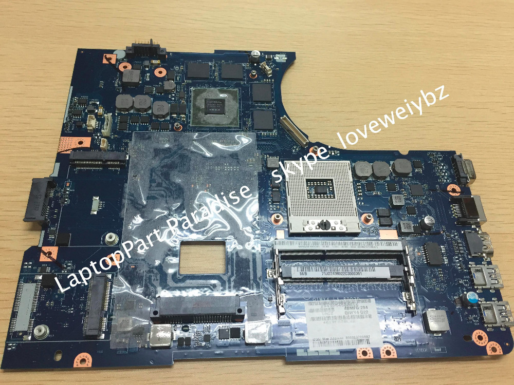 Free Shipping New QIWY4 LA-8002P REV:1A Main board For Lenovo Y580 Notebook Motherboard with Nvidia video card N13E-GE-A2<br><br>Aliexpress