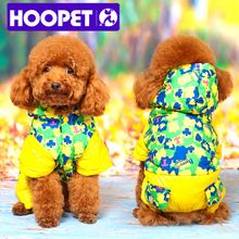 Buy warm winter ski clothing pet dog clothes fall winter jacket puppy dog coat teddy hooded jacket four feet wholesale retail for $7.53 in AliExpress store